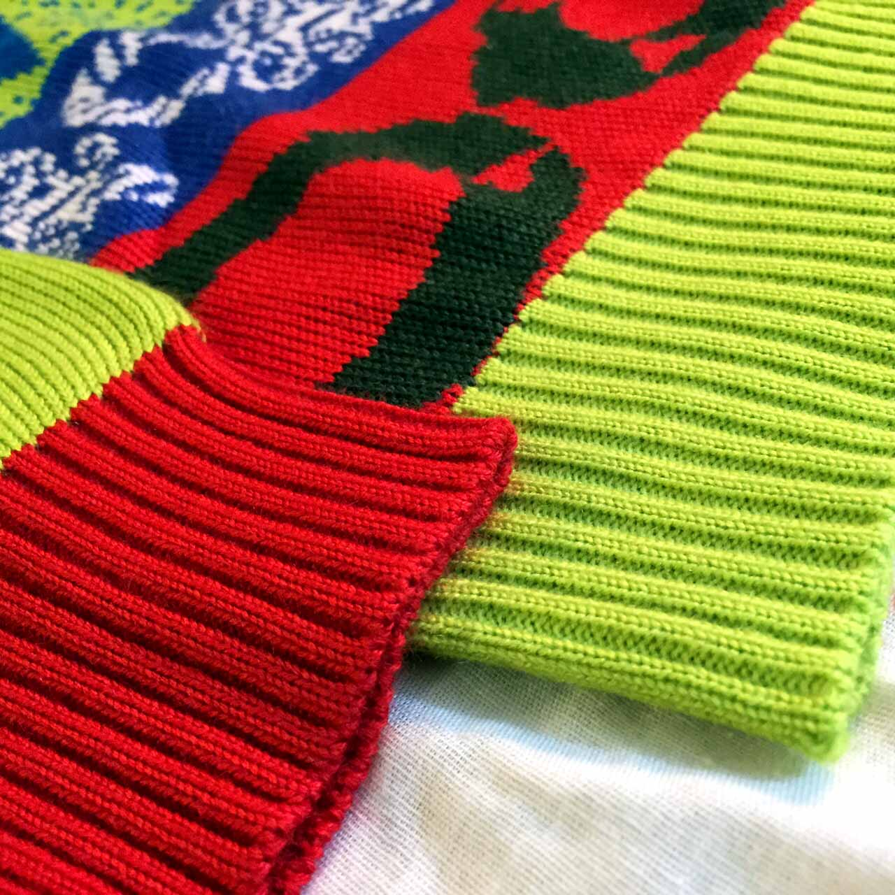 Crazy Bells Christmas Sweater Cuff