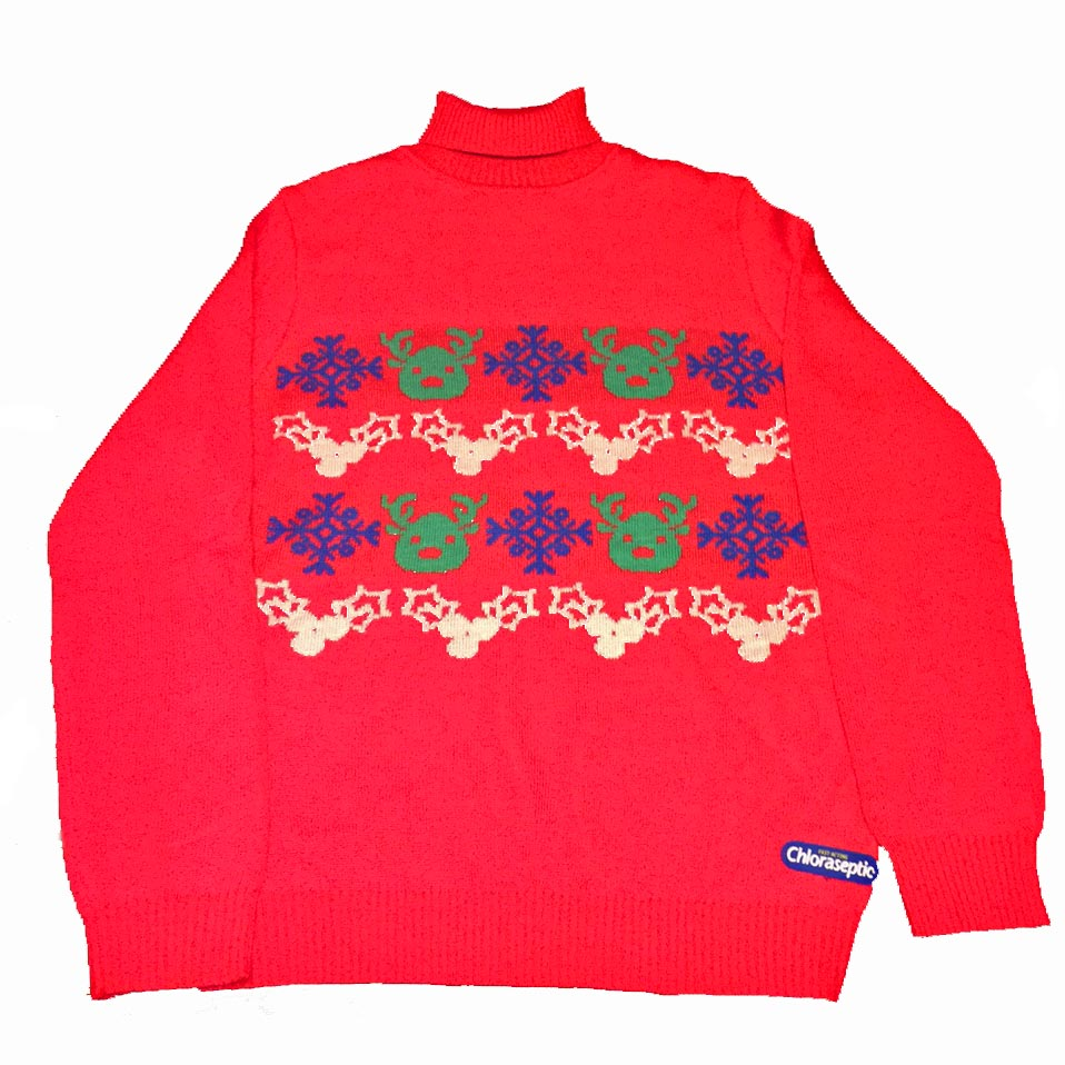 Chloraseptic Ugly Christmas Sweater