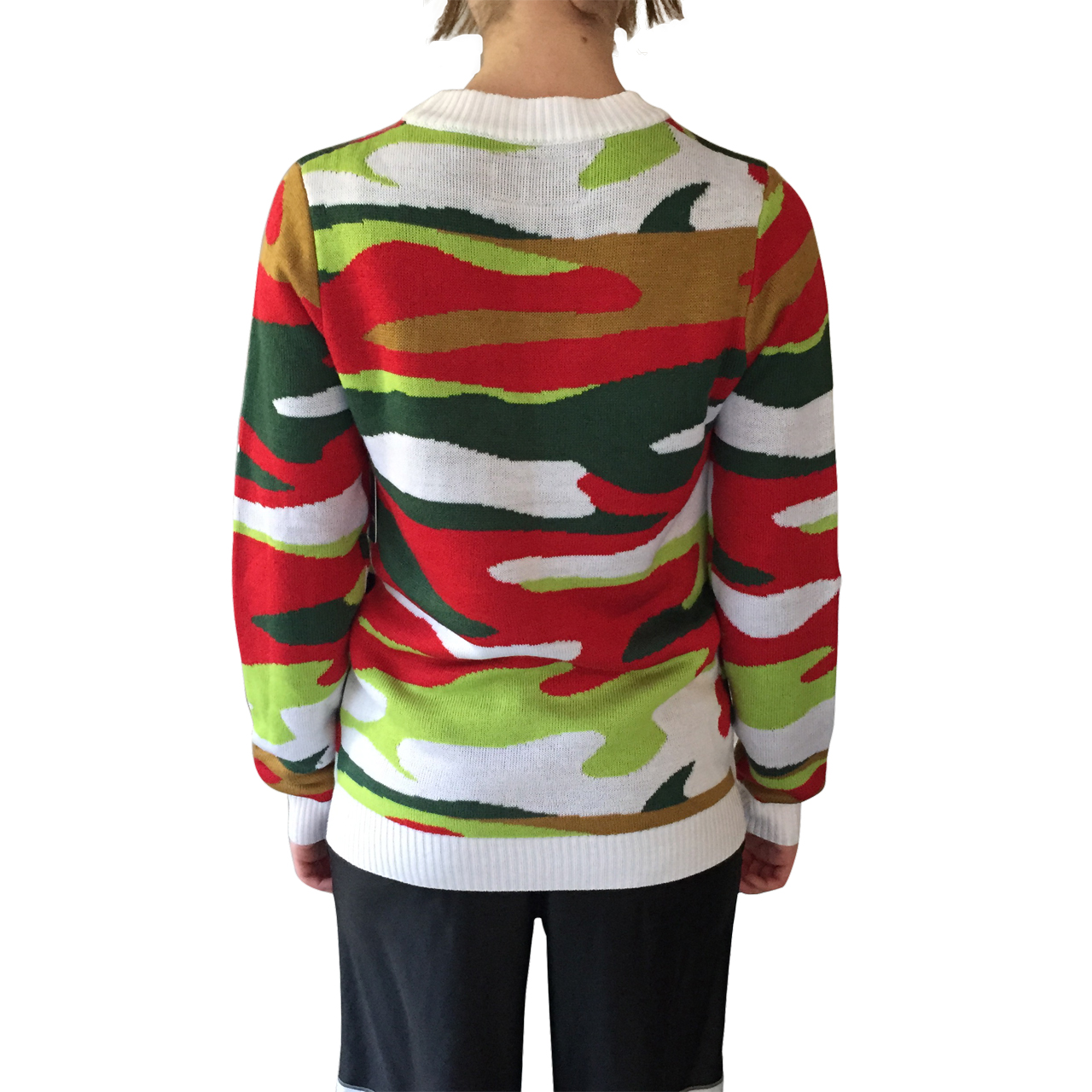 Santa Suit Christmas Camo Sweater