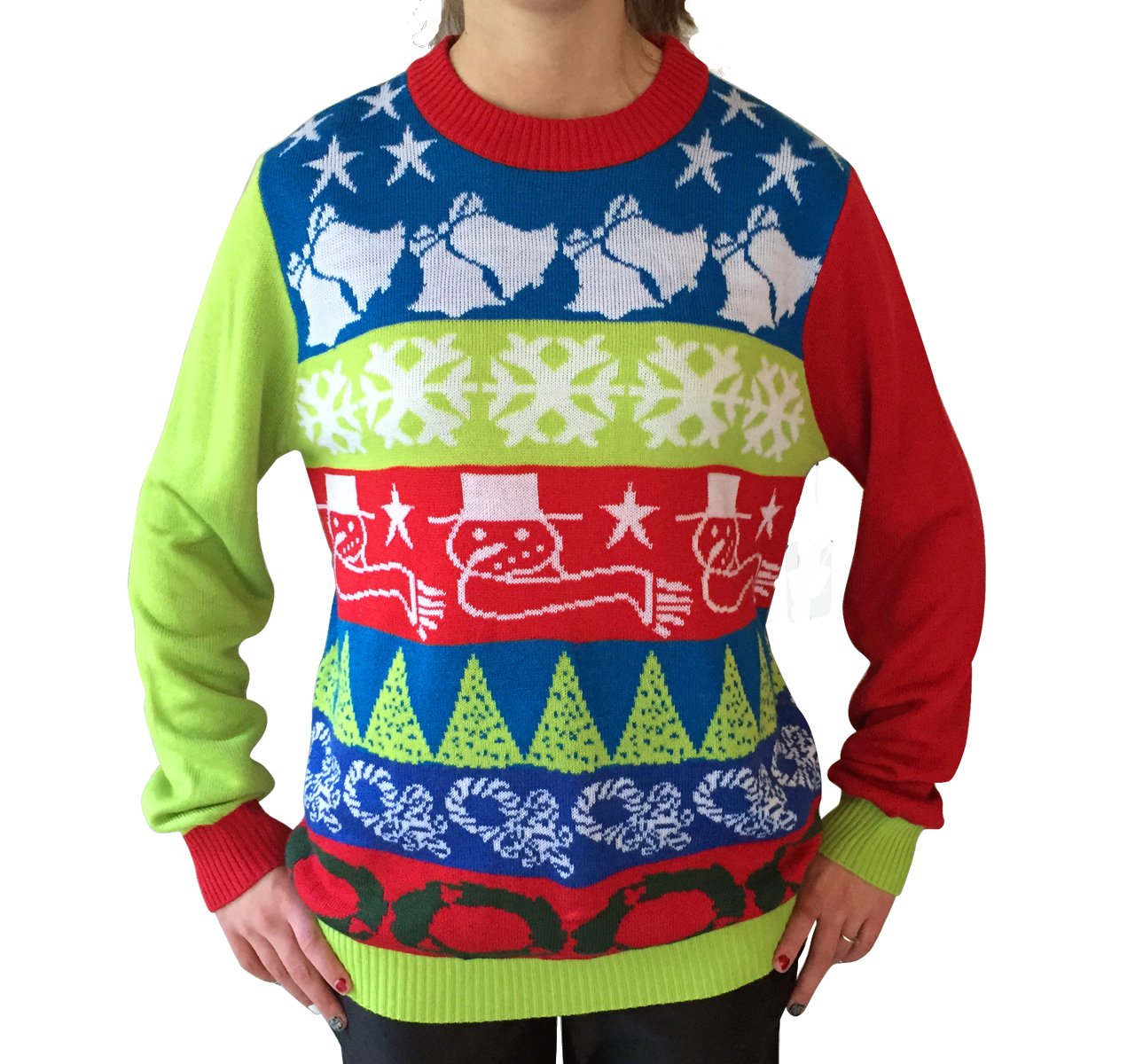Crazy Bells Christmas Sweater