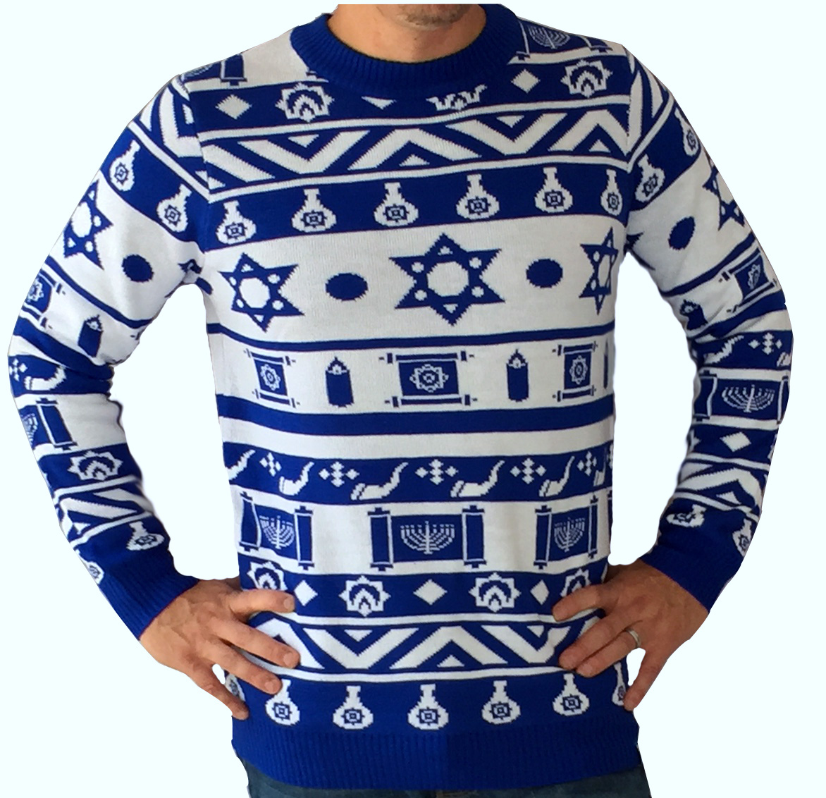 The Hanukkah Ugly Sweater