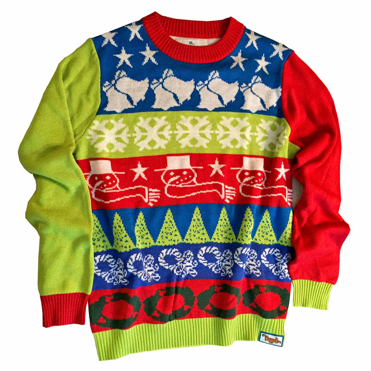 7658f3e98f9 Crazy Bells Ugly Christmas Sweater