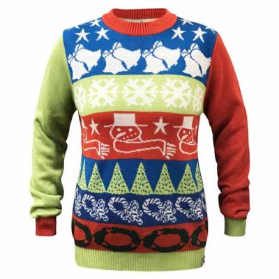 Crazy Bells Custom Ugly Christmas Sweater